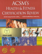 ACSM's Health and Fitness Certification Review 0 9780683300918 0683300911