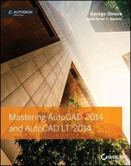 Mastering AutoCAD 2014 and AutoCAD LT 2014 1st Edition 9781118575048 1118575040