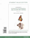Horngren s Financial and Managerial Accounting Student Value Edition and NEW MyAccountingLab with Pearson eText -- Access Card P