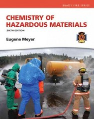 Chemistry of Hazardous Materials 6th Edition 9780133146882 013314688X