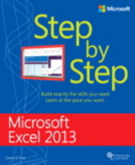 Microsoft Excel 2013 Step By Step 1st Edition 9780735681019 0735681015
