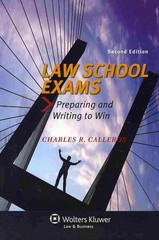Law School Exams 2nd Edition 9781454827016 1454827017