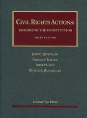 Civil Rights Actions 3rd Edition 9781609302757 1609302753