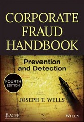 Corporate Fraud Handbook 4th Edition 9781118728574 1118728572