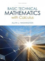 Basic Technical Mathematics with Calculus Plus NEW MyMathLab with Pearson eText -- Access Card Package 10th edition 9780321924049 0321924045