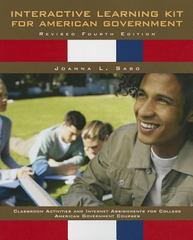 Interactive Learning Kit for American Government 4th Edition 9781256864936 1256864935