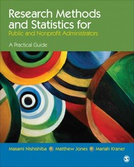 Research Methods and Statistics for Public and Nonprofit Administrators 1st Edition 9781452203522 1452203520