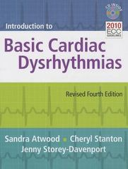 Introduction To Basic Cardiac Dysrhythmias 4th Edition 9781284040357 1284040356