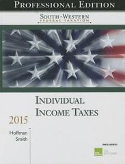 Individual Income Taxes 38th Edition 9781285441689 1285441680