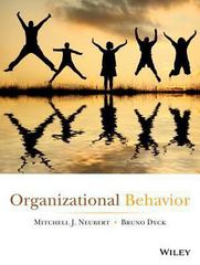 Organizational Behavior 1st Edition 9781118800010 111880001X