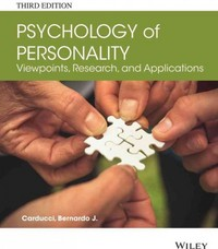 Psychology of Personality 3rd Edition 9781118504437 1118504437
