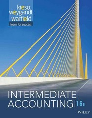 Intermediate Accounting 16th Edition 9781118743201 1118743202