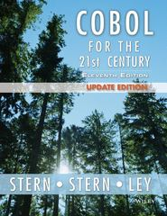 COBOL for the 21st Century 11th Edition 9781118739532 1118739531