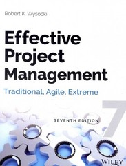 Effective Project Management 7th Edition 9781118742105 1118742109