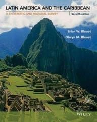 Latin America and the Caribbean 7th Edition 9781118919521 1118919521