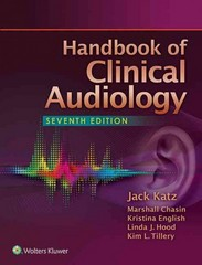 Handbook of Clinical Audiology 7th Edition 9781451191639 1451191634