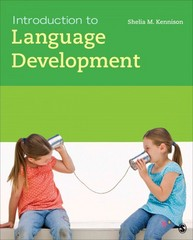 Introduction to Language Development 1st Edition 9781412996068 1412996066