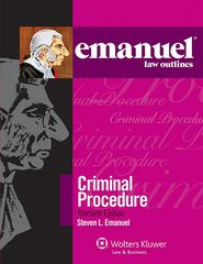 Emanuel Law Outlines 30th Edition 9781454824831 1454824832