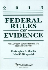 Federal Rules Evidence 1st Edition 9781454827948 1454827947