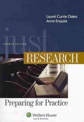 Just Research 4th Edition 9781454831006 1454831006