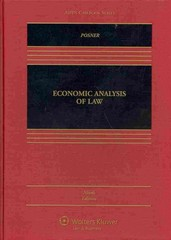Economic Analysis of Law 9th Edition 9781454833888 1454833882