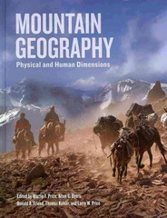 Mountain Geography 1st Edition 9780520254312 0520254317