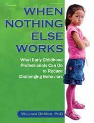When Nothing Else Works 1st Edition 9780876594803 0876594801