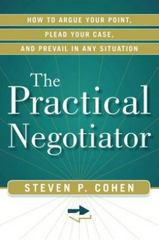 The Practical Negotiator 1st Edition 9781601632999 1601632991