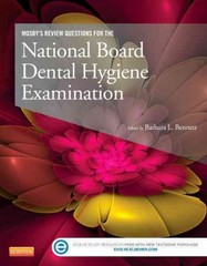 Mosby's Review Questions for the National Board Dental Hygiene Examination 1st Edition 9780323101721 0323101720