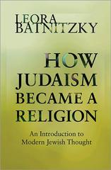 How Judaism Became a Religion 1st Edition 9780691160139 0691160139