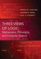 Three Views of Logic 0 9780691160443 0691160449