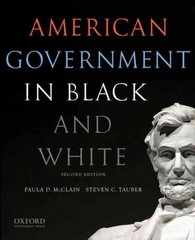 American Government in Black and White 2nd Edition 9780199325467 0199325464