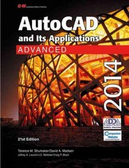 AutoCAD and Its Applications Advanced 2014 21st Edition 9781619604476 1619604477