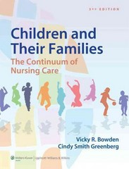 Bowden Children and Their Families 3rd Edition 9781451187861 1451187866