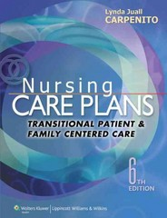 Nursing Care Plans 6th Edition 9781451187878 1451187874