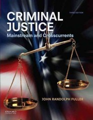 Criminal Justice 3rd Edition 9780199997961 0199997969