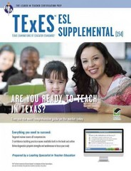 Texas TExES ESL Supplemental 1st Edition 9780738611471 0738611476