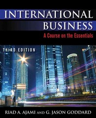 International Business 3rd Edition 9780765631343 0765631342