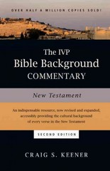 The IVP Bible Background Commentary 2nd Edition 9780830824786 0830824782