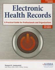 Electronic Health Records 5th Edition 9781584260035 1584260033