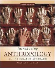 Introducing Anthropology 6th Edition 9780078035067 0078035066