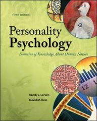 Personality Psychology 5th Edition 9780078035357 007803535X