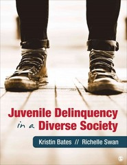 Juvenile Delinquency in a Diverse Society 1st Edition 9781412998123 1412998123