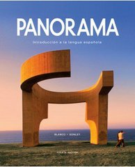 Panorama with Supersite Code 4th Edition 9781617677427 1617677426