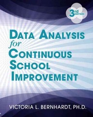 Data Analysis for Continuous School Improvement 3rd Edition 9781596672529 1596672528