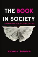 The Book in Society 1st Edition 9781554810741 1554810744