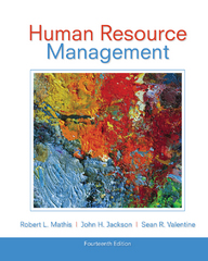 Study Guide for Mathis/Jackson/Valentine's Human Resource Management 14th Edition 9781285974859 1285974859