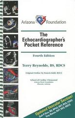 The Echocardiographer's Pocket Reference 4th Edition 9780615768359 0615768350