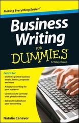 Business Writing For Dummies 1st Edition 9781118583616 1118583612