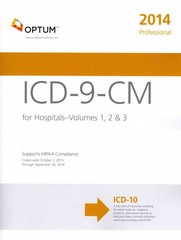 ICD-9-CM Professional for Hospitals, Volumes 1, 2, And 3 6th Edition 9781622540105 1622540107